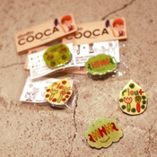 studio COOCA × ecomo コラボバッチ