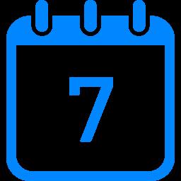 カレンダーのフリーアイコン14